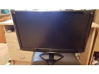 "24"" ViewSonic LCD Led computer screen monitor"