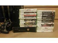 Xbox 360 slim 250gb + 30 games