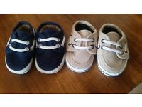 Size 0 baby boat shoes
