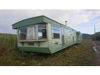 2 x Static caravans/work bothy