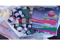 Aquarium test chemicals £5.00 for the lot