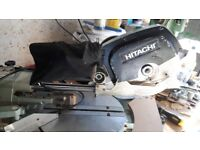 sliding mitre saw hitachi industrial quality