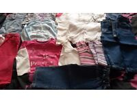 Bundle of Girls clothes 12-24 months