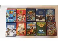 Disney and Pixar DVDs
