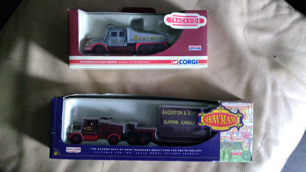 2 Die cast trucks in boxes, mint condition. - offers