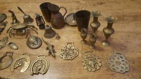 brass decorations
