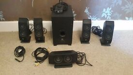 Logitech-X540-Computer-Speakers-5-1-Surround-Sound-with-Subwoofer