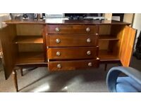 Sideboard 2 cupboards with 4 drawers