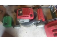 BRIGGS AND STRATTON PETROL MOWER - GOOD CONDITION BUT NEEDS CLEANING