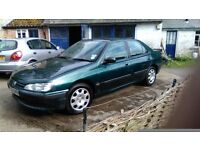 Peugeot 406 1.9 turbo diesel.1995. only 137,000 miles. Tow bar and electrics. 50 mpg. Good starter.