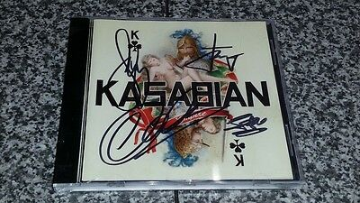 Kasabian Empire 2005 CD album Autographed Fully Signed By All Indie Britpop