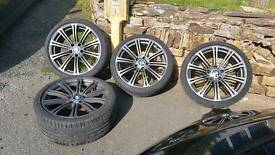 Bmw 19 inch alloy wheels