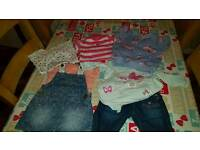 Girls 3-6mths clothes