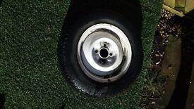 Elddis mistral wheel/tyre