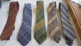 Job Lot Tweed Ties. Car Boot Sale? Reduced to £75