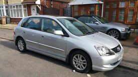 Honda Civic 1.6 i VTEC Executive 5dr silver