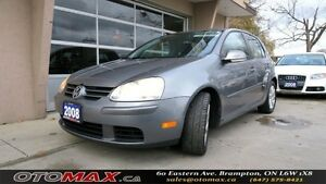2008 Volkswagen Rabbit Trendline | NO ACCIDENT | SUNROOF | ALLOY