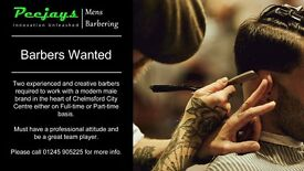 Full Time Experience Barber Wanted / Required