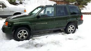 1996 Jeep Grand Cherokee Limited Edition