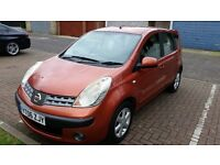 2006 Nissan Note 1.4 16v SE 5dr Low Mileage HPI Clear @07445775115@ 07725982426@