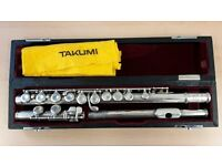 Takumi T-100S flute 1970's (by makers of Altus and Mateki)
