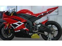 R6 race bike with v5