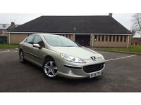 2006 Peugeot 407 2.0 HDI 140 BHP 6 SPEED FULL MOT Turbo Diesel 307 406 Focus Passat Bora Vw Family