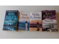 Nora Roberts - 4no. Paperback Books