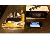 Sony Psp 2003 boxed + new acc pack