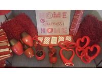 Red accessories for sale