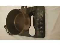 Immaculate Induction Cooker from Tefal including an induction high capacity Pot