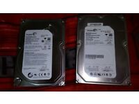 SEAGATE 500GB HARD DRIVE FOR DESKTOP PC HDD SATA CONNECTION