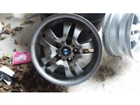 2 BMW alloy rims good condition.
