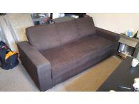 Large 3 seat sofa bed