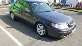 Saab 95 Turbo Linear Auto with manual paddle shift gears