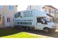 Moving House?Fully insured & Professional Removal Services/Bristol Man& Luton van/Free quotes