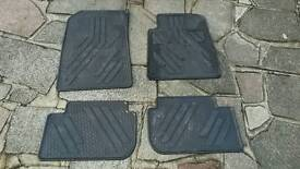 Floor mat set for Peugeot 407 (2004-)