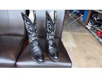 Genuine Texas cowboy boots