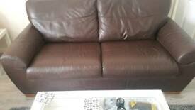 Italian Design leather sofas
