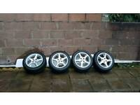 Mazda Alloy wheels with tyres x 4