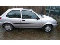 1999 Silver Ford Fiesta For Sale