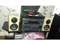 Speakers+Amp/Turntable/CD player