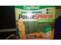 cuprinol fence and decking paint power sprayer