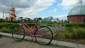 Refurbished retro 3 speed women's bike