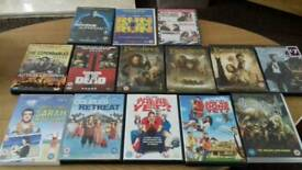 DVD's in excellent condition, 3 are brand new