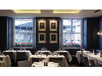 Experienced Waiting Staff - Top Italian Restaurant - Sloane Square - SW3