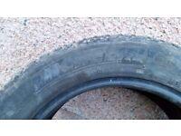 2x winter tyres - Michelin Alpin 215/55 R16