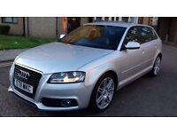 Audi A3 S-Line Diesel 2.0 Tdi 5 Door ''11 Plate ''