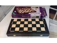 Wooden Chess Set, Brand new, boxed.