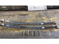 VW Crafter ( rear springs )